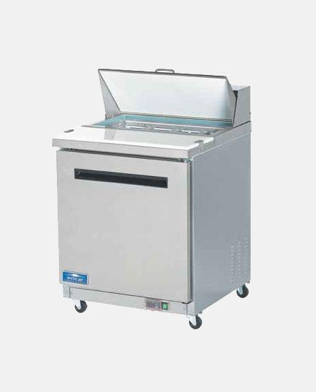 "Arctic Air One Door 28"" Sandwich/Salad Prep Table AST28R - BarStoreUSA"