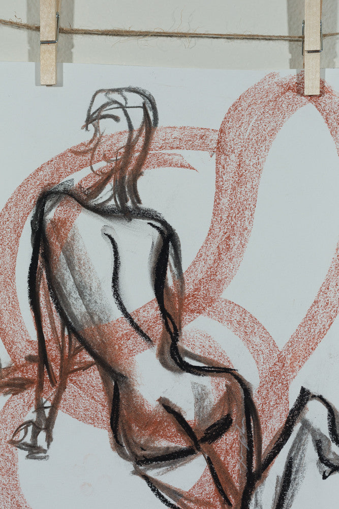 Legato Abstract Female Figure