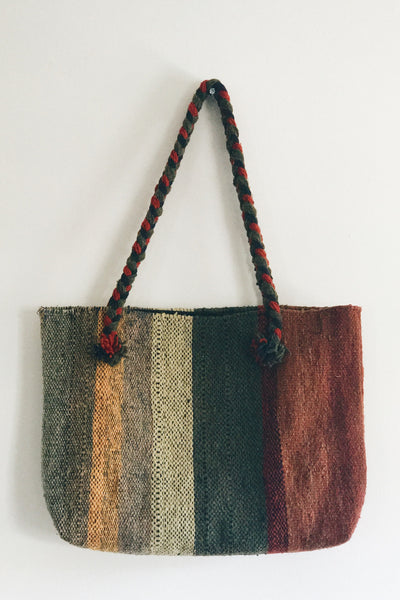 Braided Handwoven Tote