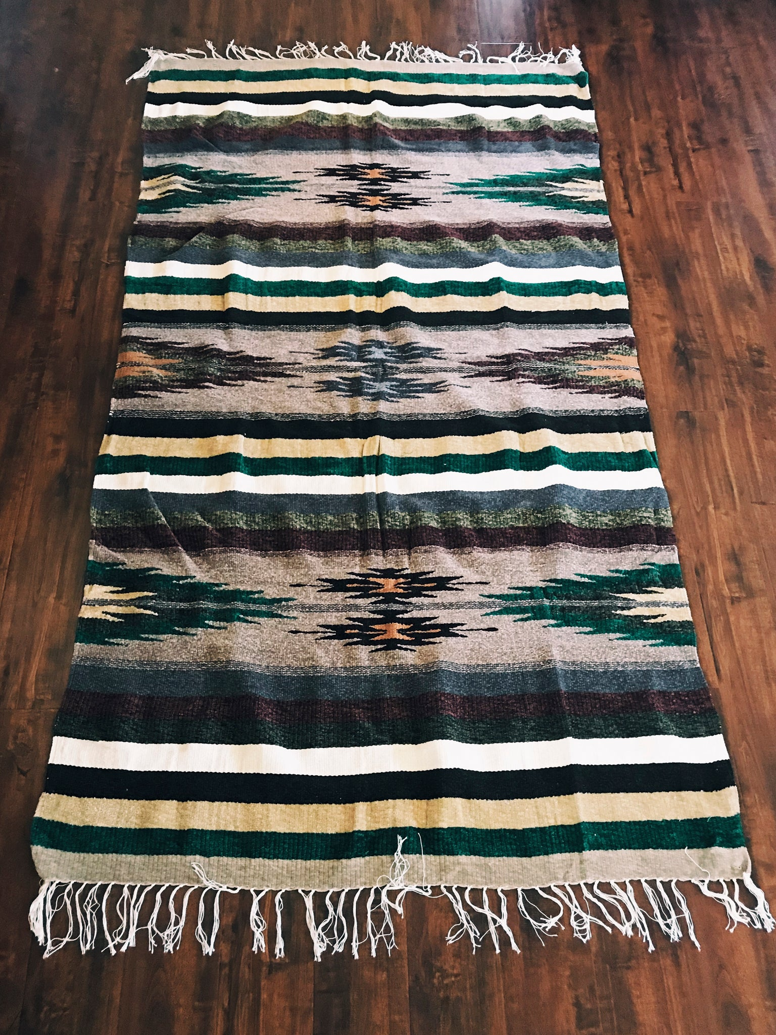 Forest Star Throw Rug
