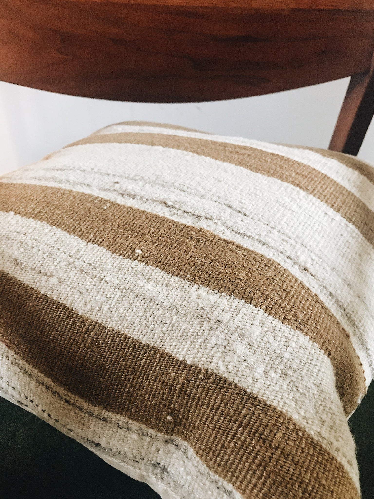 Turkish Mustard Kilim Pillow