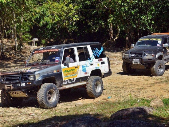 4WD expedition inside Endau Rompin National Park