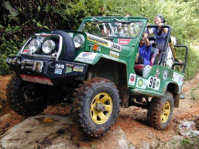 4WD experience at Jeram Besu jungle