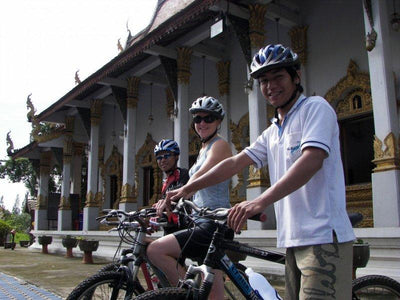 Ancient Lamphun Historical Cycling Tour