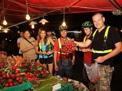Chiang Mai City Night Bike Excursion