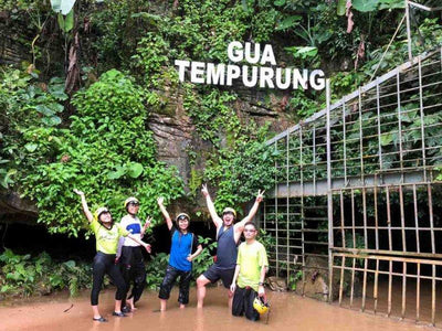 Gopeng Camping Adventures - Caving, Waterfall Abseiling & Sunset Hiking (2D1N)