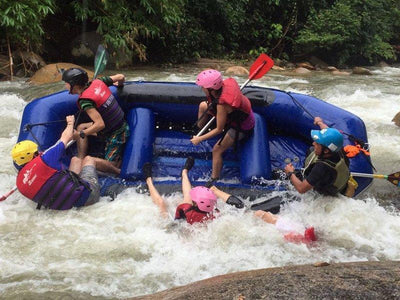 Gopeng Camping Adventures - Rafting, Waterfall Abseiling & Sunset Hiking (2D1N)