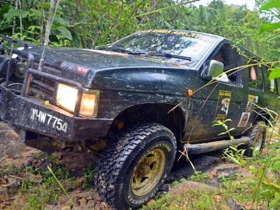 A 4WD in the Endau Rompin National Park