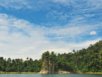 A rock cliff at Tasik Kenyir