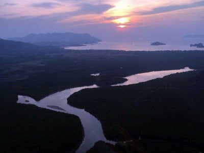 Aerial view of Langkawi Island