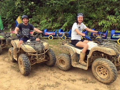 ATV activity in UTM Recreational Forest