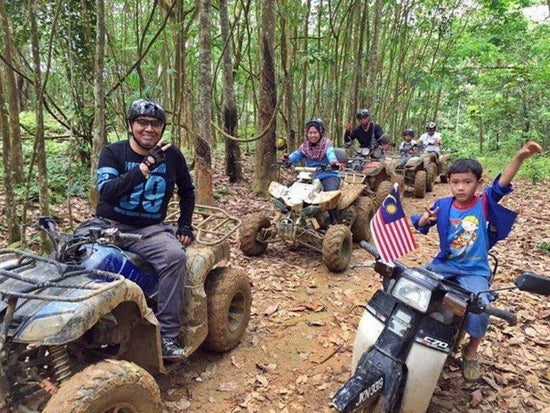 ATV ride activity at UTM Recreational Forest