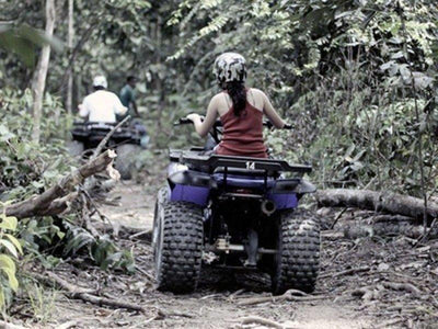 ATV ride through the forests in Kuala Lumpur