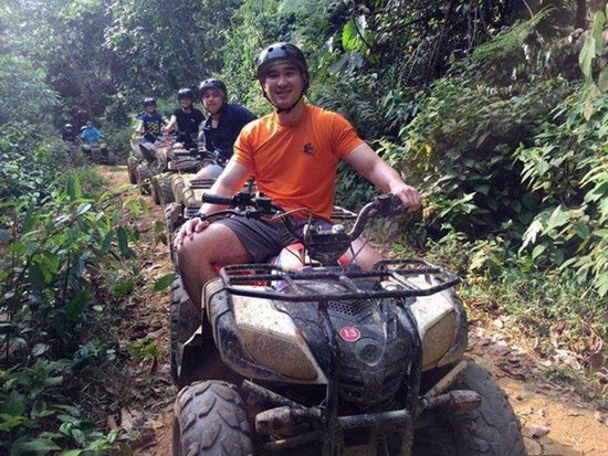 ATV riding at UTM Recreational Forest