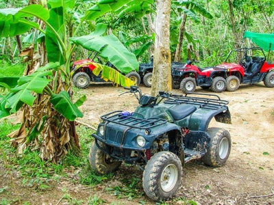 ATVs used by tourists to explore Langkawi