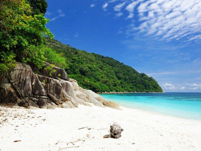 beautiful beach in perhentian