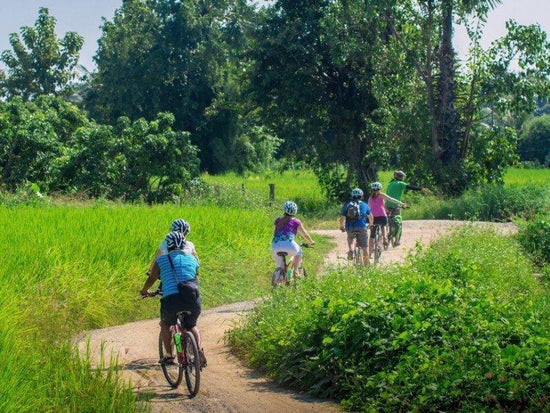 Chiang Mai countryside cycling group