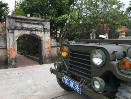 Hanoi Countryside Food and Culture Jeep Tour jeep