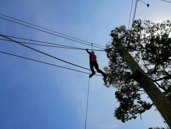 high ropes at desaru