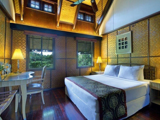 Interior view of chalet suite in Mutiara Resort Taman Negara