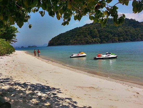 Jetski by the beach on Langkawi Island