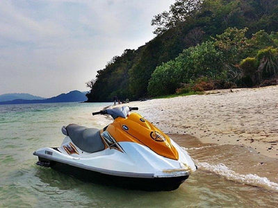 Jetski stop by the shore of Langkawi