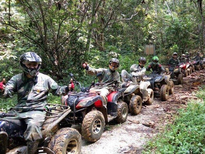 Jungle ATV ride at UTM Recreational Forest
