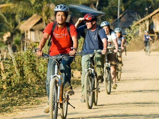 Luang Prabang cycling tours with local guide