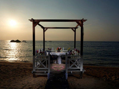 Romantic dining at Tioman Island
