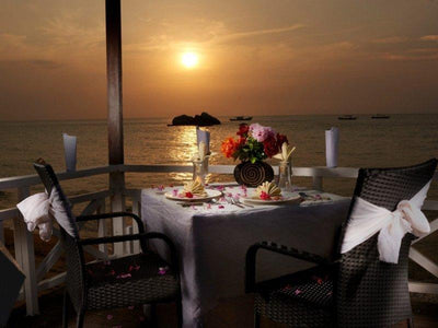 Romantic dinner tioman island