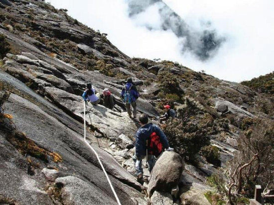 Summit trail to the top of Mount Kinabalu