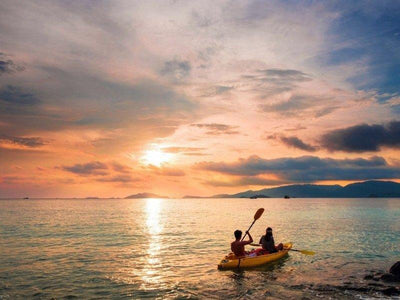 Sunset Kayaking at Cenang Beach
