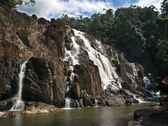 Takah Tinggi Waterfalls in the forest of Endau Rompin National Park
