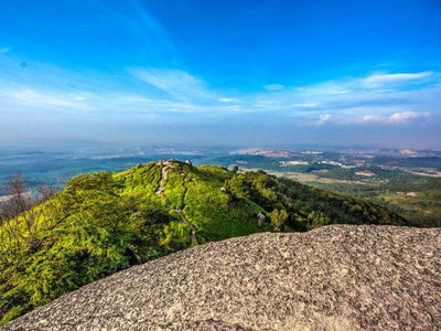 view from peak of broga