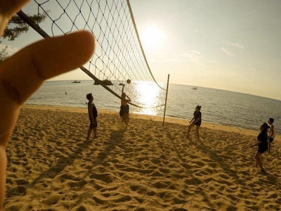 Volleyball at tioman beach