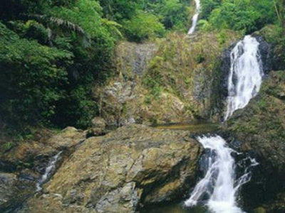 Waterfall in Khao Phanom Bencha National Park