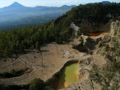 Wawo Muda crater lakes in Flores