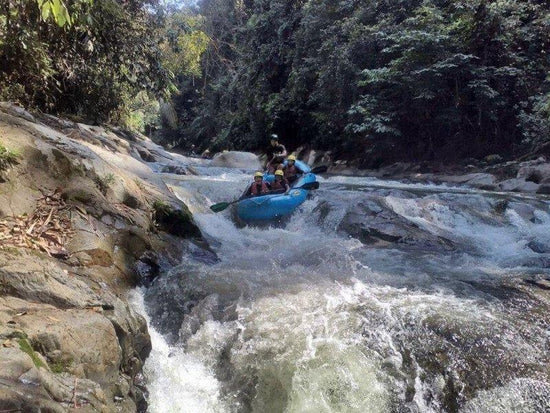 White water rafting in Sungai Kampar