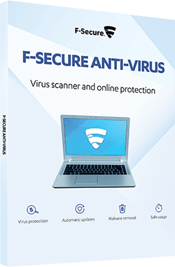 F-SECURE ANTI VIRUS - Virus and malware protection for PC