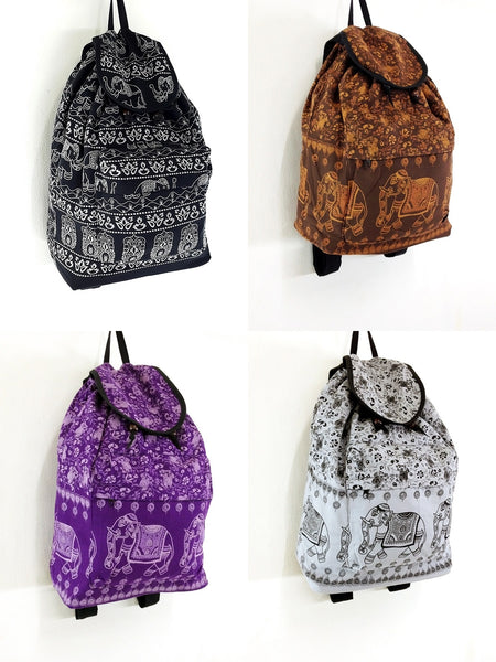Cotton Bags: Backpacks
