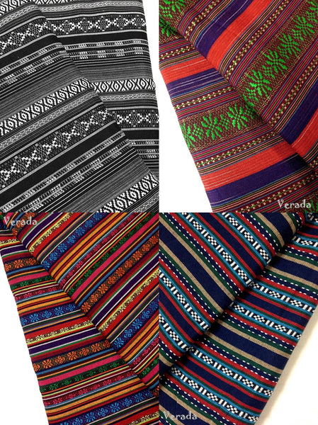 Thai Woven Fabric: Cotton Blended Polyester