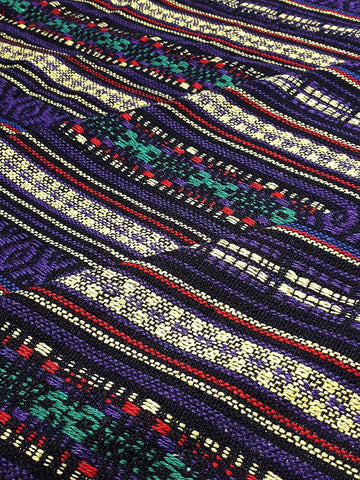 Thai Woven Cotton Fabric Tribal Fabric Native Fabric by the yard Ethnic fabric Aztec fabric Craft Supplies Woven Textile 1/2 yard (WF242)