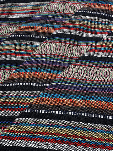 Thai Woven Cotton Fabric Tribal Fabric Native Fabric by the yard Ethnic fabric Aztec fabric Craft Supplies Woven Textile 1/2 yard (WF239)