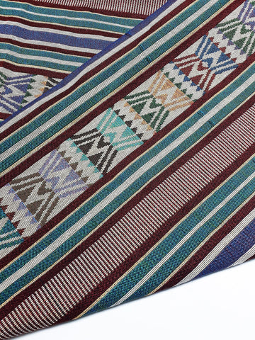 Woven Fabric Tribal Fabric Native Fabric by the yard Ethnic fabric Aztec fabric Craft Supplies Woven Textile 1/2 yard (WFF259)