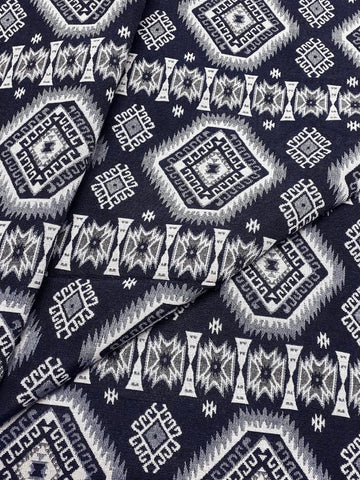 Thai Woven Cotton Fabric Tribal Fabric Native Fabric by the yard Ethnic fabric Aztec Craft Supplies Woven Textile 1/2 yard (WFF235)