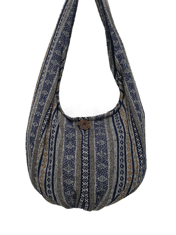 Handmade Woven Bag Handbags Purse Tote Thai Cotton Bag Hippie bag Hobo bag Boho bag Shoulder bag Women bag Long & Short Strap (WF188)