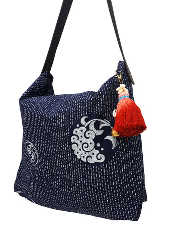 Cotton Bag Women Bag Handbags Hippie Bag Hobo Bag Boho Bag Shoulder Bag Tote Tribal Bag Hill Tribe Bag Everyday Bag Purse Tassel Charm CTB16