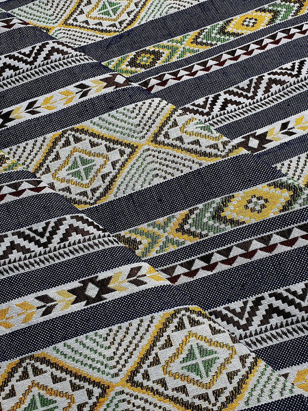 Thai Woven Fabric Tribal Fabric Native Cotton Fabric by the yard Ethnic fabric Craft fabric Craft Supplies Woven Textile 1/2 yard (WFF228)