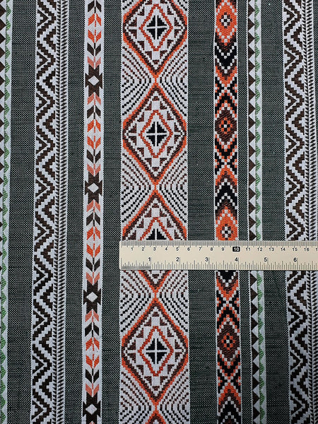 Thai Woven Fabric Tribal Fabric Native Cotton Fabric by the yard Ethnic fabric Craft fabric Craft Supplies Woven Textile 1/2 yard (WFF229)