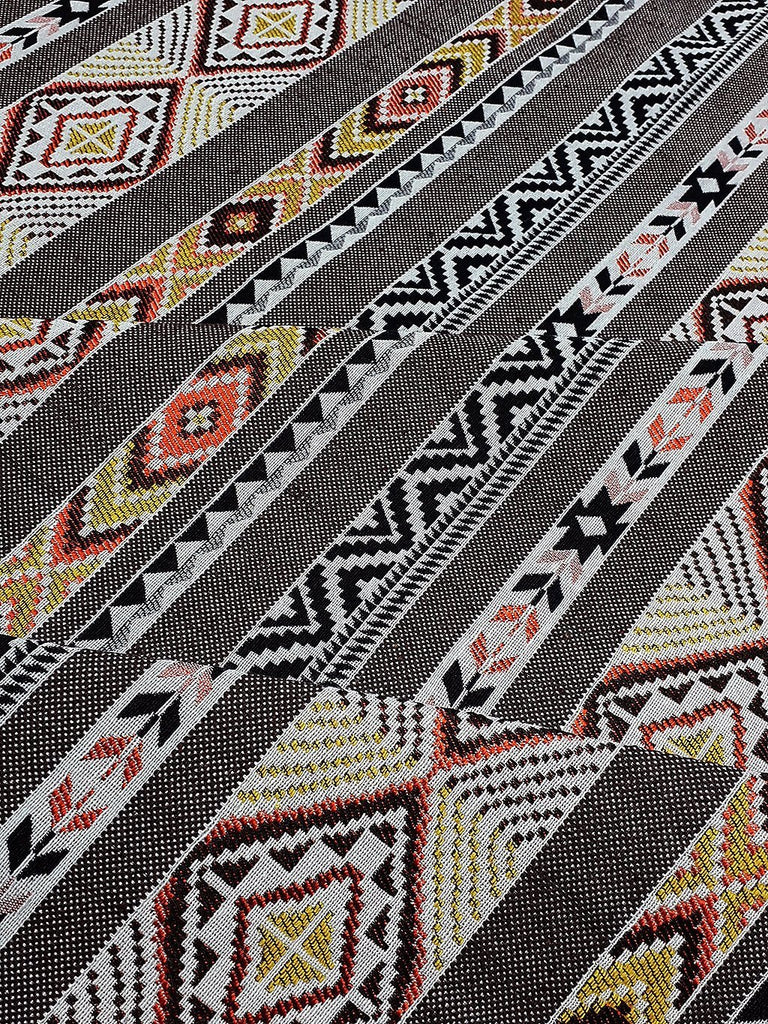 Thai Woven Fabric Tribal Fabric Native Cotton Fabric by the yard Ethnic fabric Craft fabric Craft Supplies Woven Textile 1/2 yard (WFF230)